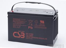 CSB阀控式铅酸蓄电池GP12120免维护12V12AH支持安装