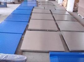 英展电子地磅 SCS-1T-5T花纹钢不锈钢地磅秤 单双层地磅