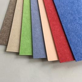 豪瑞聚酯纤维吸音板有传统软板一样的柔顺