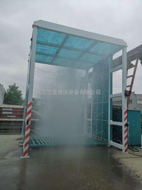 水泥搅拌站工程车辆洗轮机 洗车机设备