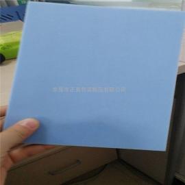 韩国pp发泡板 蓝色双面磨砂板片 超轻发泡倍率pp板