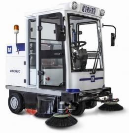 明诺全封闭扫地车 驾驶式电动道路清扫车MN-E800FB