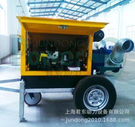 市政排污应急抢险柴油机水泵/300立方防汛移动泵车/配凸轮转子泵