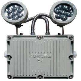 防爆应急灯双头灯消防EXIT安全出口灯外贸应急灯