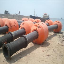 定制圆柱体孔径160mm管道浮筒 水上抽淤泥塑料浮体,欢迎致电