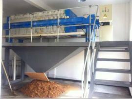 砖厂脱硫压滤机,砖厂污水处理压滤机,首选禹州大强过滤