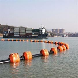 环海生产挖沙船管道浮筒 内孔350mm疏浚塑料浮筒