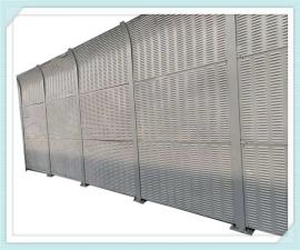 金属板声屏障 隔音声屏障效果 隔音墙安装