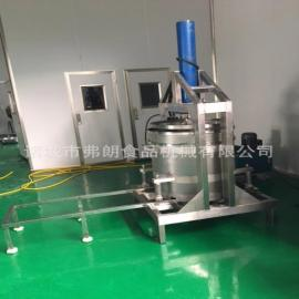 弗朗牌YZD300不锈钢材质酱菜米酒压榨机