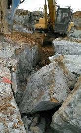 水坝建设石头破开劈裂器