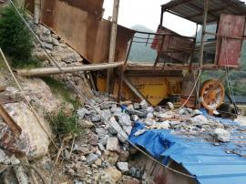 低价处理闲置中47颚式破碎机制砂机整套砂石料生产线设备