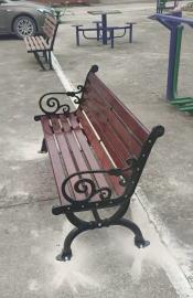 易顺公园椅定做、花箱生产加工 公园椅加工、定做