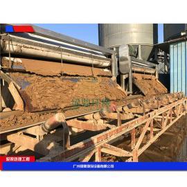 价钱公道印染污泥带式压滤机 河沙污水污泥处理设备