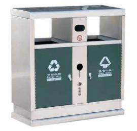 景区分类果皮箱--校园分类垃圾桶-金属垃圾桶生产加工