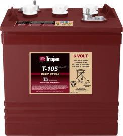TROJAN邱健T1275蓄电池美国进口蓄电池电瓶适用于坦能凯驰力奇