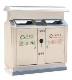 街道户外果皮箱-景区环卫垃圾桶-市政分类果壳箱企业