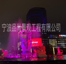 广场喷雾喷泉设备