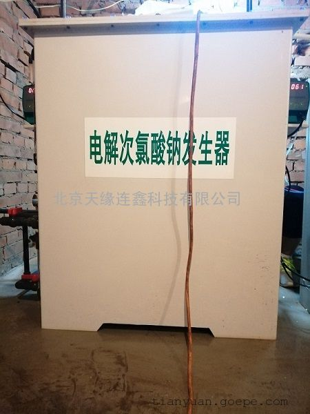 自备井水消毒自来水消毒农村安全饮水美丽乡村专用次氯酸钠发生器