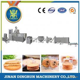鼎润机械全自动酱油饼生产线 酱油饼加工设备 酱油饼生产设备