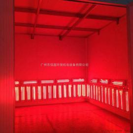 定制高温电加热烤漆房 静电高温固化房 喷塑设备