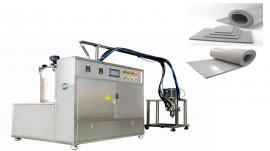 AB双组份液态发泡硅胶自动混料、供料机!久耐机械销售。