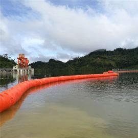 水上拦污塑料浮体 夹绳子塑料浮体 水库警示拦污浮体