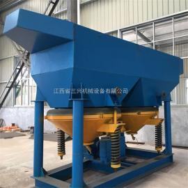 沙金跳汰机应用于选别砂石中的金矿重力分离设备跳汰机