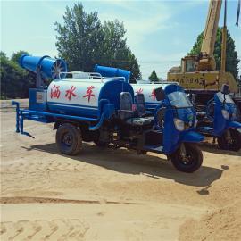村庄降尘绿化专用农用三轮雾炮洒水车