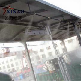 工业大棚降尘喷雾设备装置 高压水雾除尘器