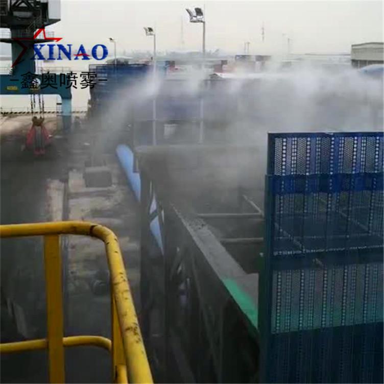 粉碎车间雾化除尘设备 降尘喷雾喷嘴