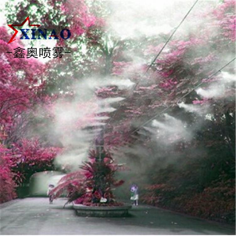 公园景观喷雾造景 雾森系统