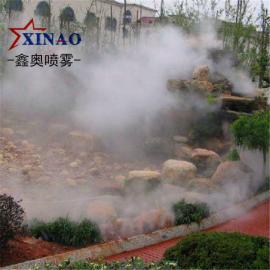 园林景区冷雾造景设备 人工湖河流喷雾主机