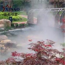 小区绿化人工造雾系统 湖面喷雾雾森设备
