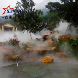 园林景区高压喷雾造景系统 户外冷雾降温加湿机