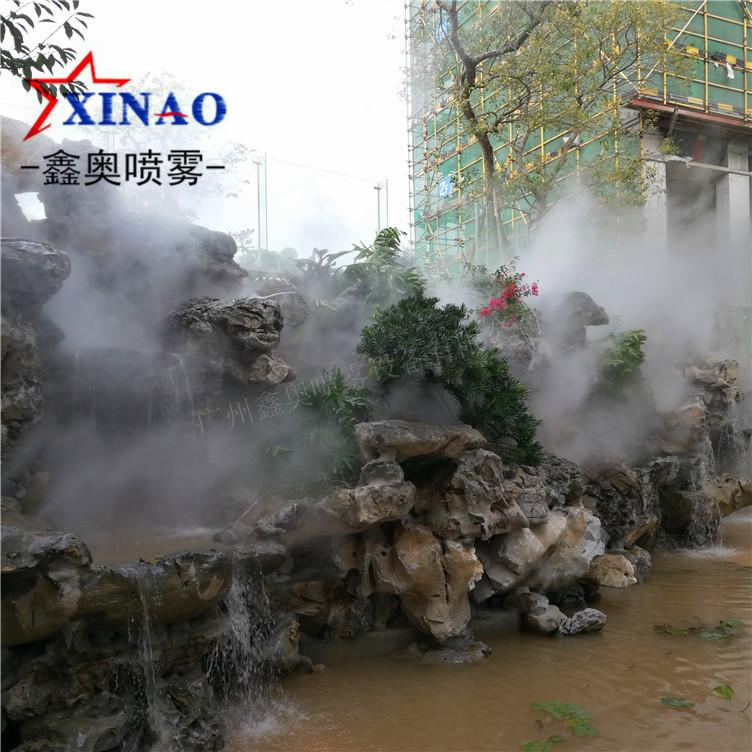 小区景观喷雾造景 人造雾工程