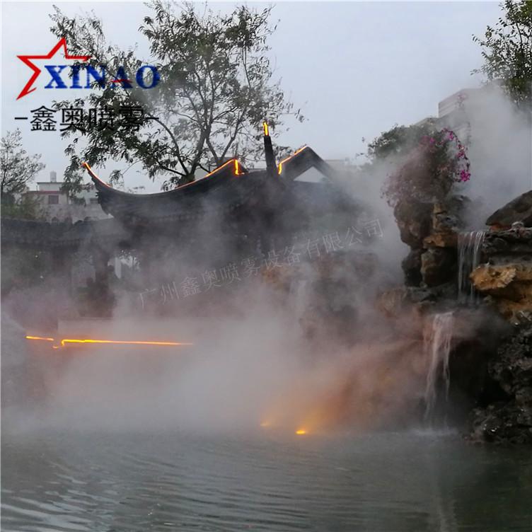 别墅喷雾造景设备 雾森喷雾设备