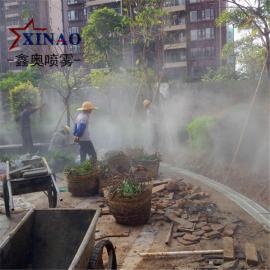 草坪人造雾加湿喷雾设备 园林绿化雾森造景系统