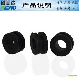 手提灯圆形硅胶密封件高质量 汽车单口密封硅胶垫圈装拆方便