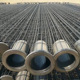 有机硅骨架 喷塑骨架钢铁厂喷塑除尘骨架带文士管