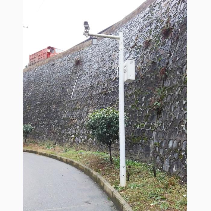 监控立杆,3.5米-6米监控立杆,道路监控立杆生产厂