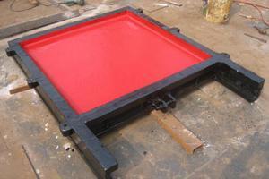 1.5m×1.5m 闸门 铸铁闸门配件 安装步骤