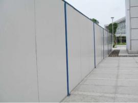 施工泡沫围挡 道路围弊 工地pvc围墙 夹芯板围挡