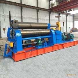 威力达机械全自动三辊卷板机40x2500-卷制圆形和锥形更高效