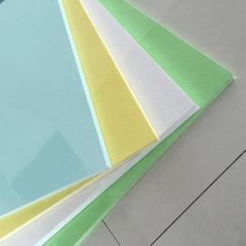 玻纤天花板且颜色多样,装饰效果极佳