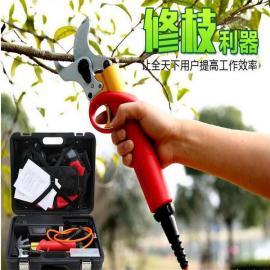 电动修枝剪、兴立828果树剪、4公分锂电果树剪、园艺剪