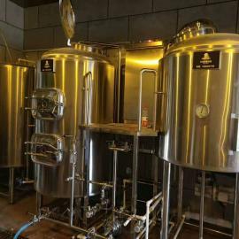 小型德国精酿啤酒北京赛车,不锈钢自酿啤酒北京赛车厂量身定制