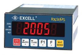 英展EX2005仪表 英展MODBUS格式EX-2005显示器 MODBUS RTU协议