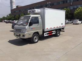 福田4米冷藏车报价