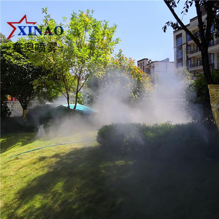 小区冷雾造景主机,冷雾喷雾主机,房产售楼处景观喷雾设备