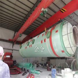 15米高脱硫塔洞口镇红砖厂脱硫塔实体厂除尘型